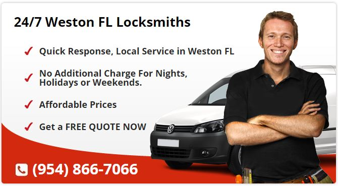 24 Hour Locksmith Weston FL